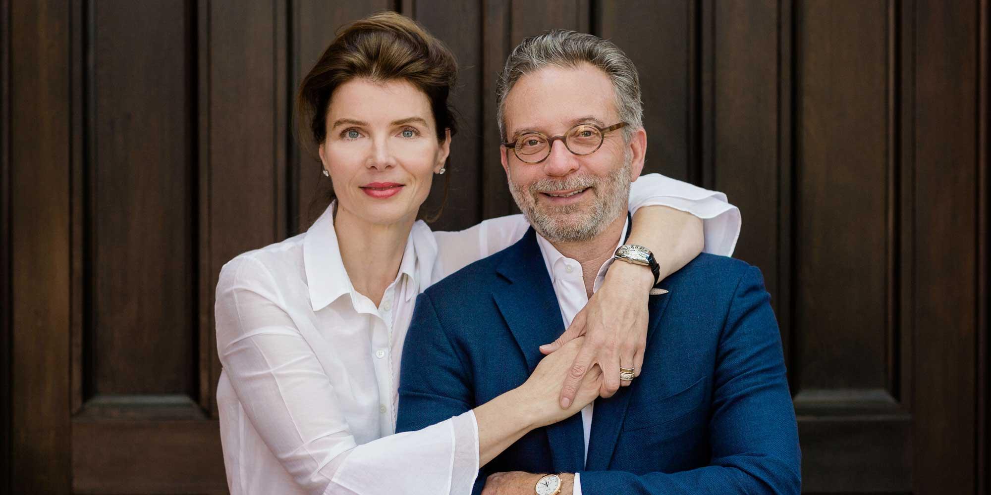 Melanie and Pascal Levensohn